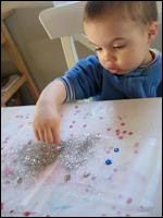 Boule Neigeuse - Bonhomme de Neige, bricolage pour enfants.
