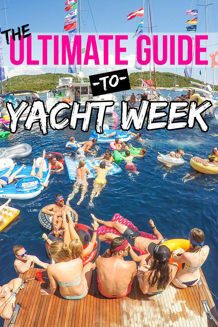 Ultimate Guide to Yacht Week -- Are you or your friends planning on doing Yacht Week next summer? If so, don't miss this my brand new guide to Yacht Week Croatia. It's packed with all sorts of great YW tips, tricks, packing lists and more.  ***Don't forget to SHARE/REPIN this with your friends who are planning on heading out on Yacht Week next year!***