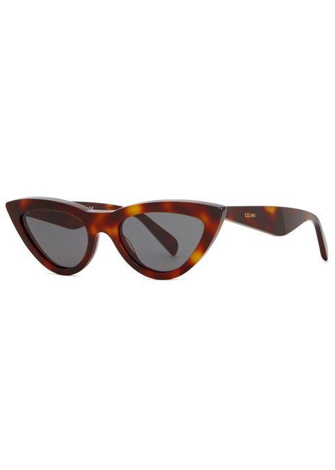 80d30c0974 Tortoiseshell cat-eye sunglasses in 2019