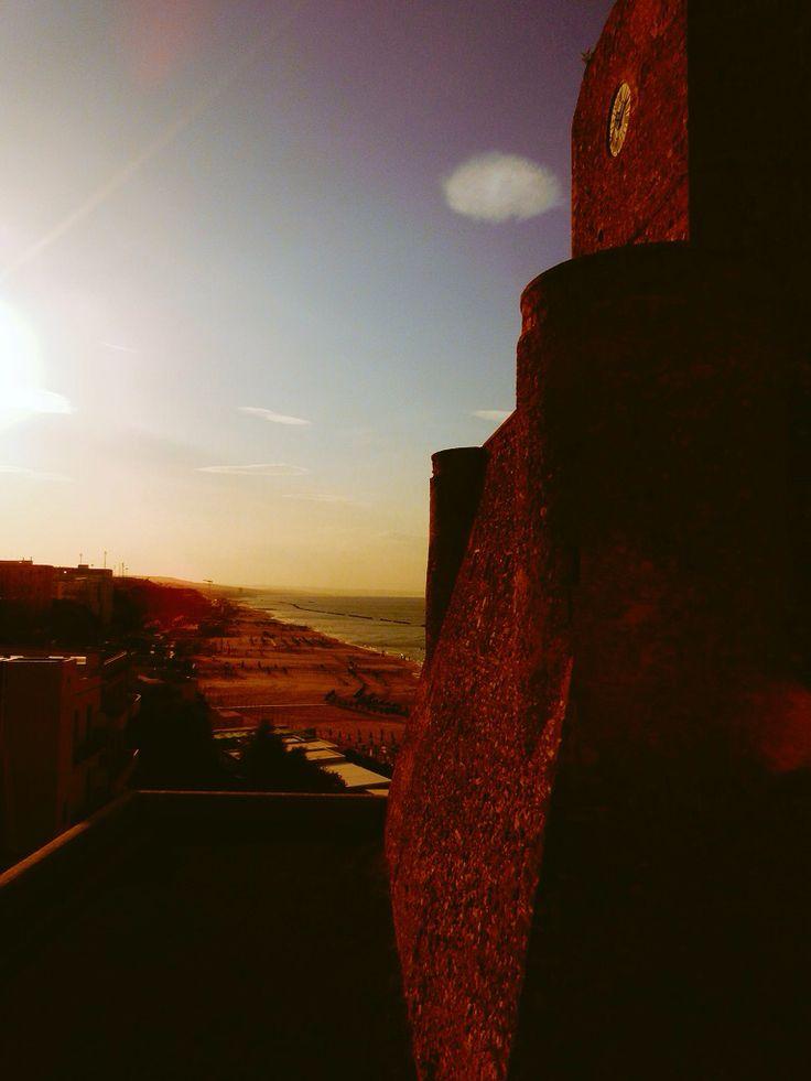 #castello #termoli #molise #spiaggiapanfilo