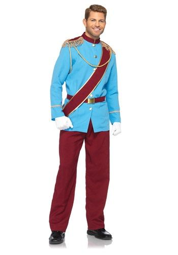 Cool Disney Costumes - Men's Disney Prince Charming Costume just added...
