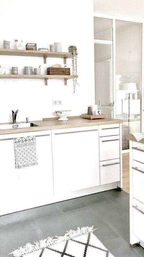 311 best #Küche images on Pinterest Apartment ideas, At home and - arbeitsplatte küche grau