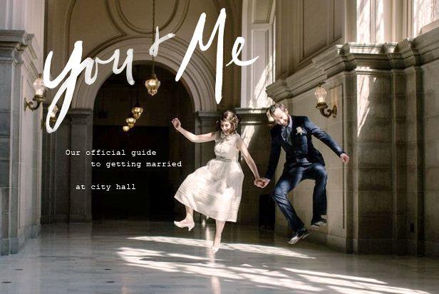 tips + tricks | a guide to city hall weddings | via: BHLDN