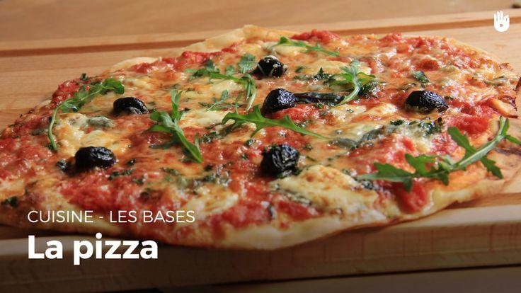 La Pizza de A à Z - recette facile