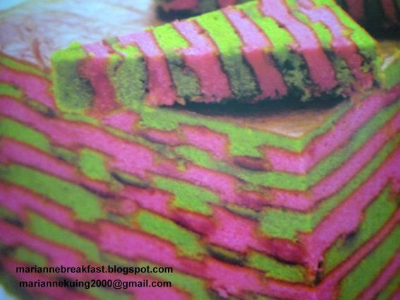 Sarawak craft layered cake