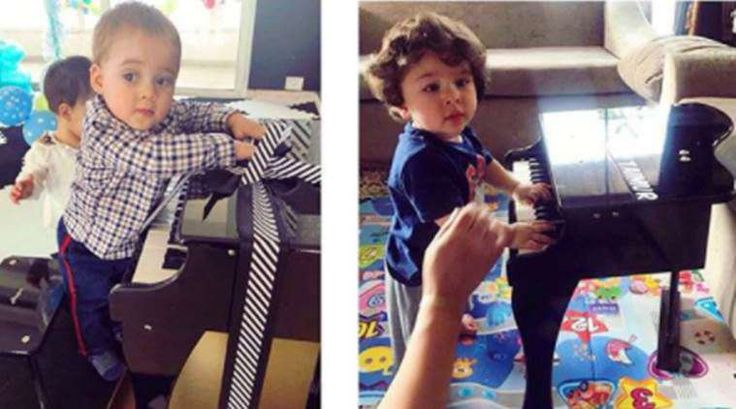 Karan Johar shares adorable click, Taimur Ali Khan and Yash Johar are 'future musicians'