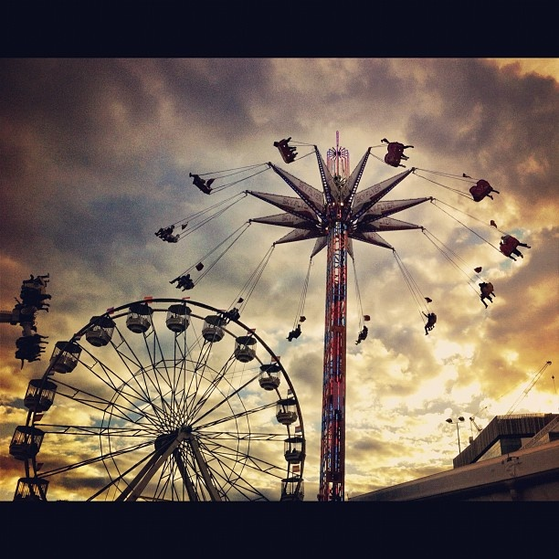 The Ekka at Brisbane's RNA Showgrounds by beth_l #thisisqueensland #instagram