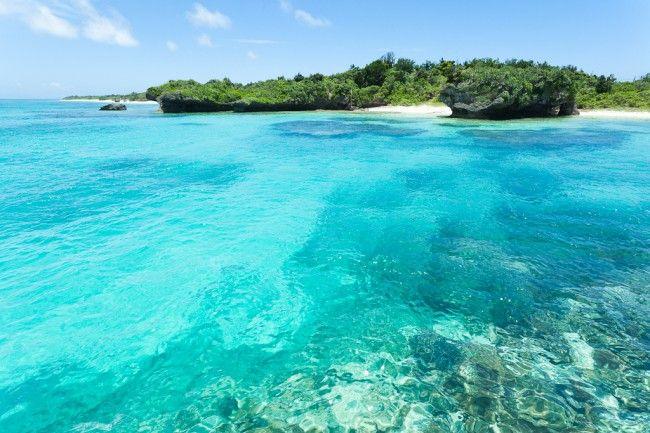 Panari Island (Aragusuku Island), Okinawa, Japan
