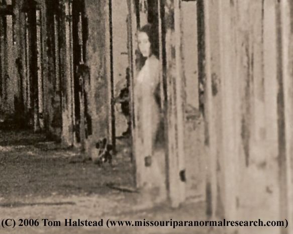 Taken by Tom Halstead of missouri paranormal research at Waverly Hills...paranormal?