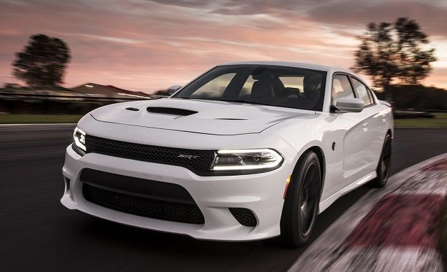 2016 Dodge Charger Hellcat - front