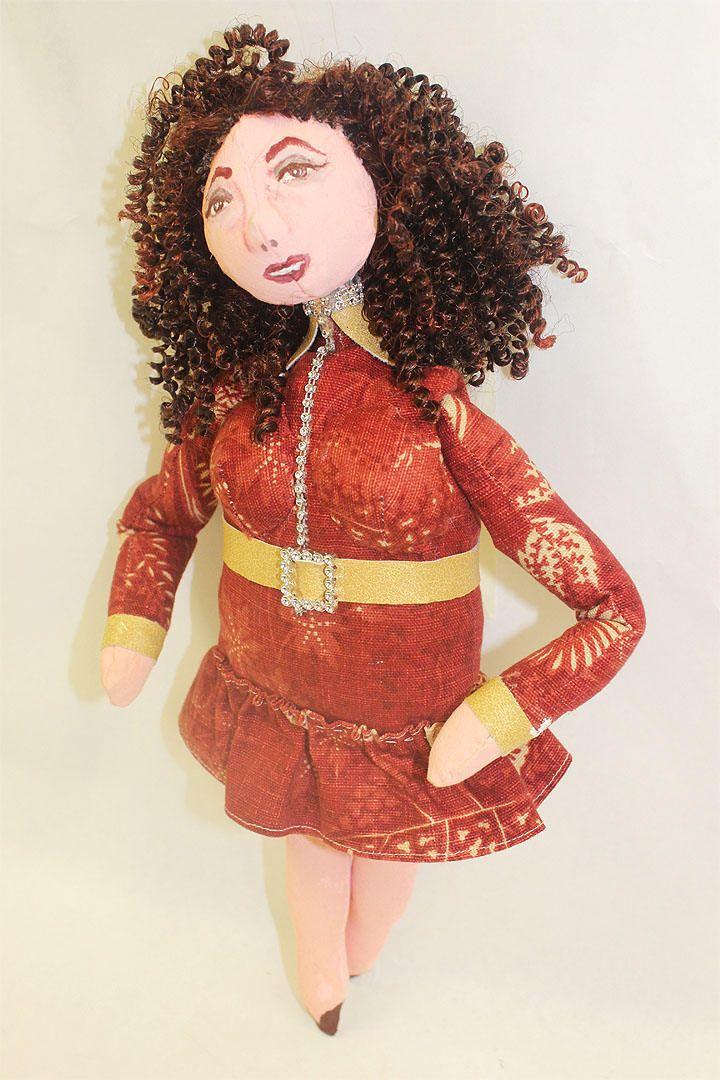 Lorraine * Hand-Painted OOAK Cloth Doll