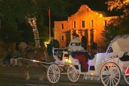 Romantic top spots in San Antonio.