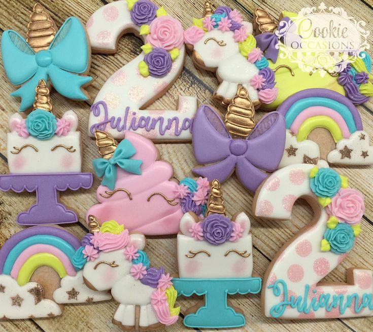 Unicornio cookies