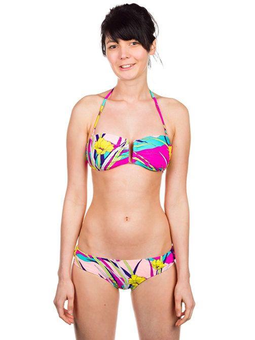 Roxy Island Dreams U Bandeau Boy Brief Bikini online bestellen im Blue Tomato Shop