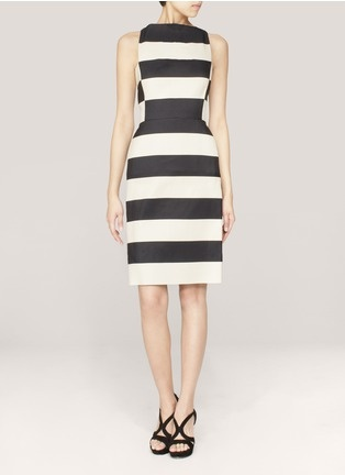Lanvin - Striped sleeveless dress | Multi-colour Work Dresses | Womenswear | Lane Crawford - Shop Designer Brands Online