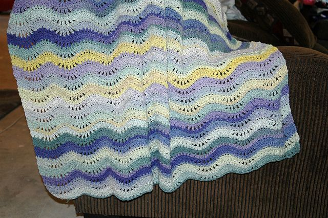 Crochet Jamie Stitch : Pin by Crochet By Jamie on Crochet - Blankets ripple or chevron Pin ...
