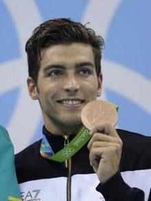 Rio2016.+Un+400+Stile+Libero+di+Bronzo+per+Detti