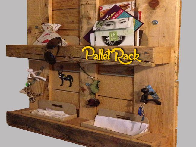 Pallet Rack + Bottle Storage
