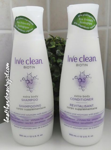 Live Clean is on a roll with awesome new product launches! Their new Biotin Extra Body Shampoo and Conditioner are some of those new...