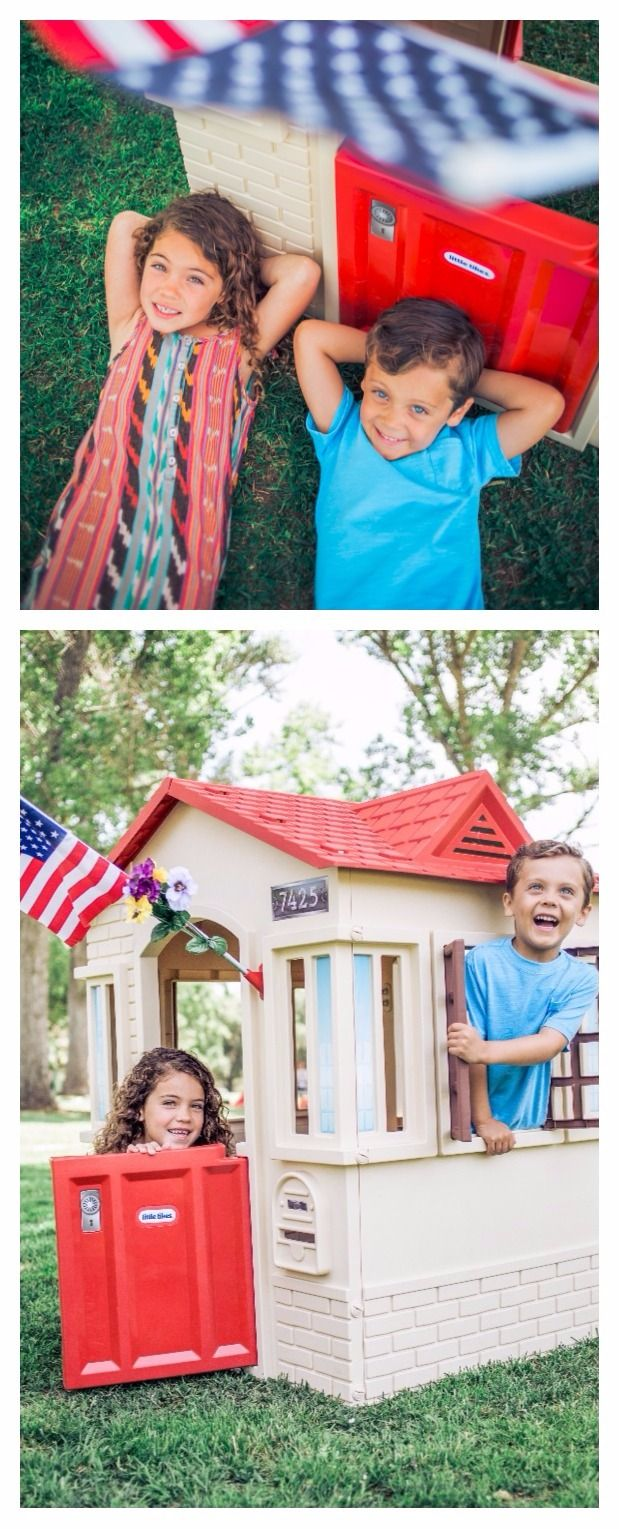 All Little Tikes playhouses are proudly made in the USA!