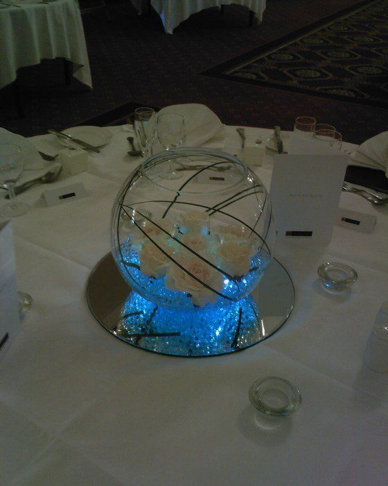 181 best images about wedding fish bowl centerpieces on