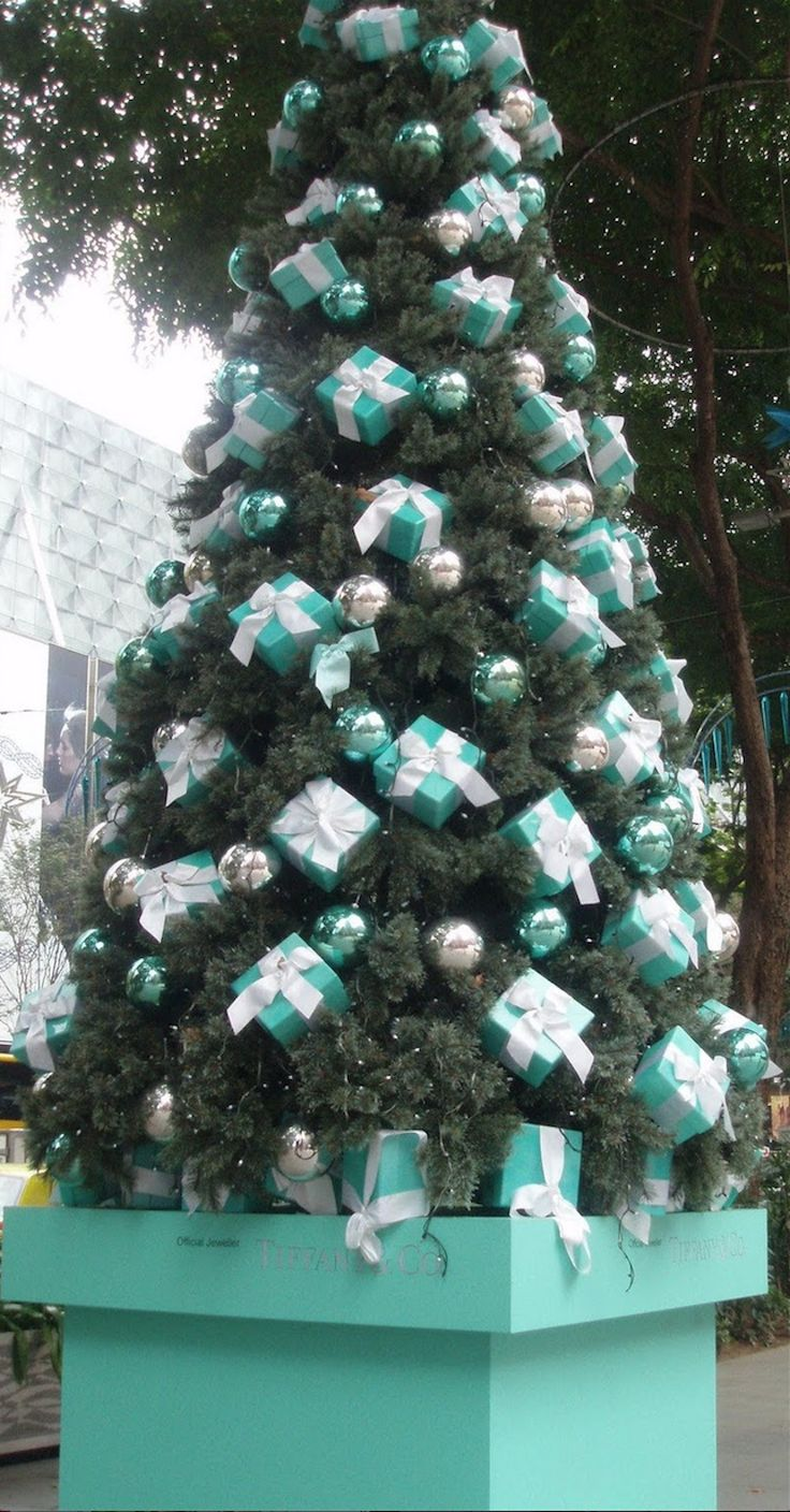 updated - Tiffany Blue Christmas Decorations
