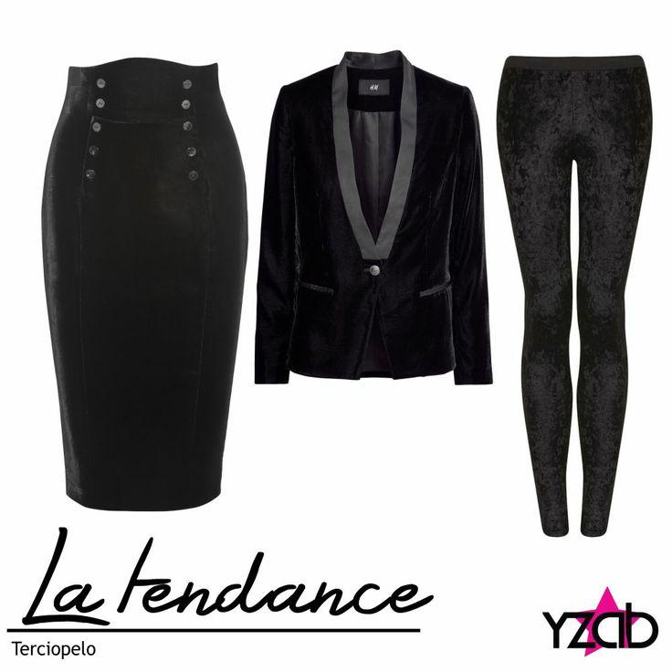 REPORTE #YZAB TENDENCIAS 2014 Texturas: terciopelo Desde blazers tipo esmoquin, suéteres holgados, leggins con efecto metalizado o estampados, shorts, crop tops, faldas y vestiditos, el terciopelo se adueña de todo aportándole sofisticación y suntuosidad al atuendo de esta temporada. Inspírate con más tendencias para 2014 en www.yzab.com.ve #YZAB #ESTETICA #tendencias #EstilismoEspiritual