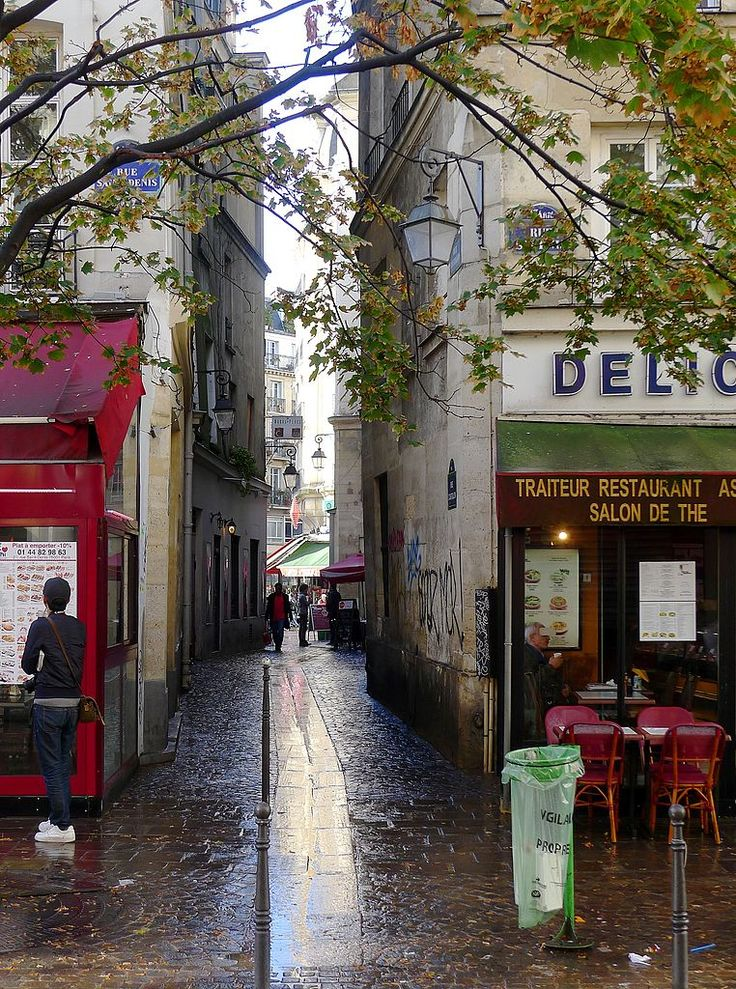 Halles Quarter, Rue Courtalon, Paris I