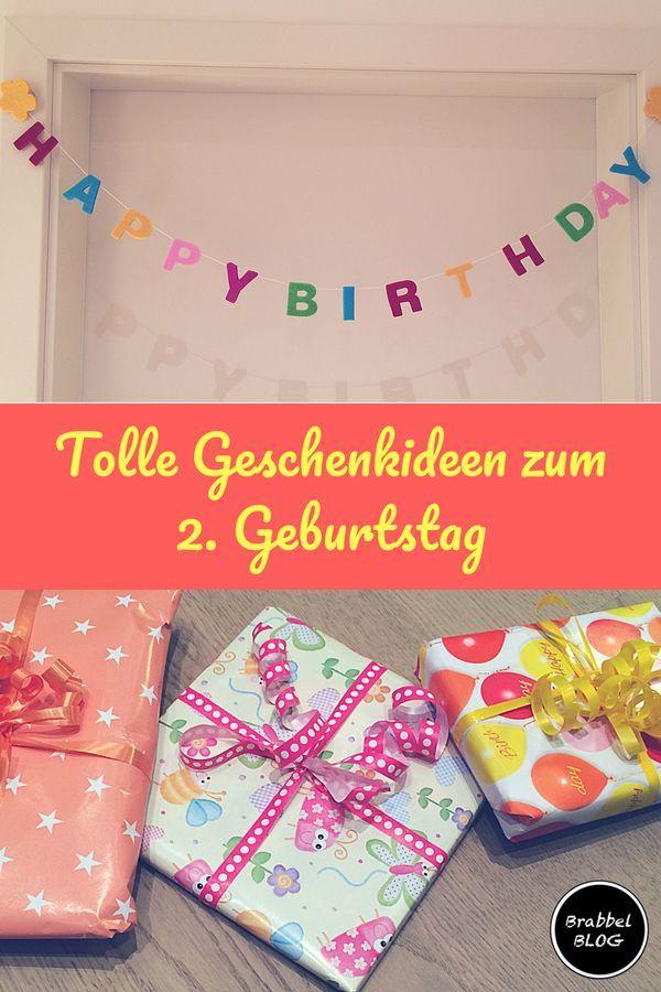 Happy Birthday Unsere Geschenktipps Zum 2 Geburtstag