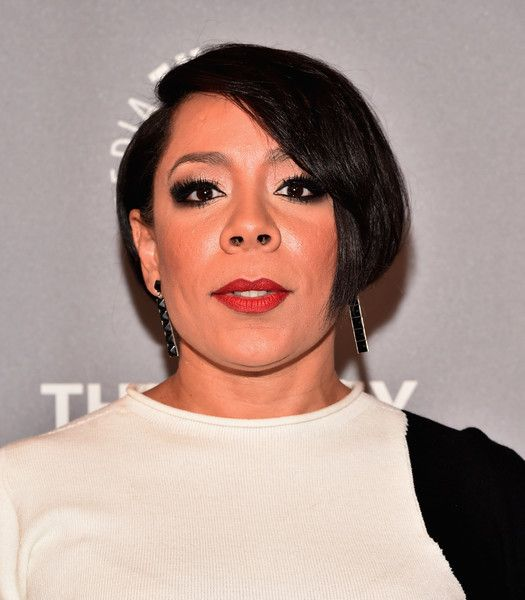 Selenis Leyva B.o.B - Selenis Leyva topped off her look with this cute bob when she attended the PaleyLive LA 'Orange is the New Black' event.