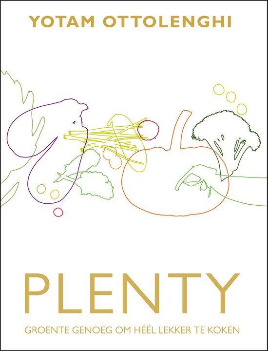 Plenty - Yotam Ottolenghi kookboek vegetarisch. Deze recepten vergen wat tijd maar zijn zeer rijk van smaak, aanrader