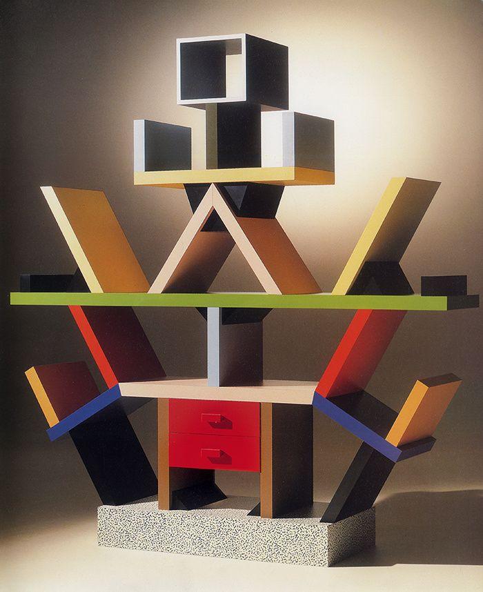 Bibliothèque Carlton, Ettore Sottsass (1981)