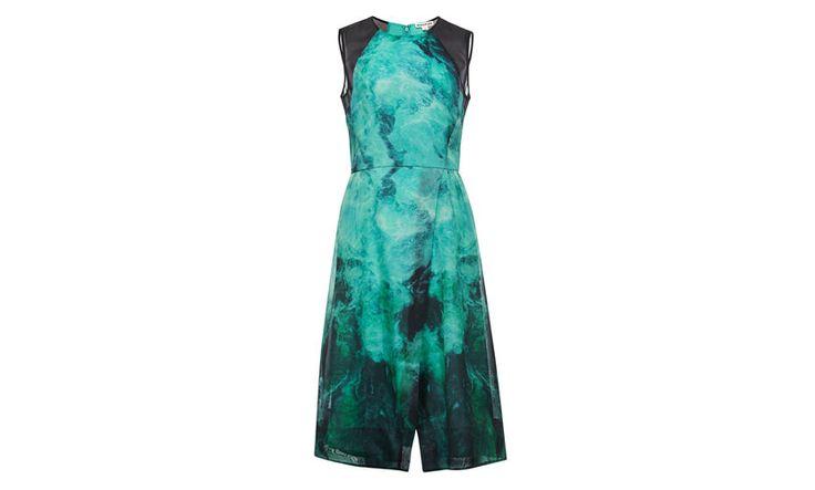 In Smoke Print Dress