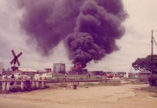 Salisbury petrol depot fire, 11 December 1978