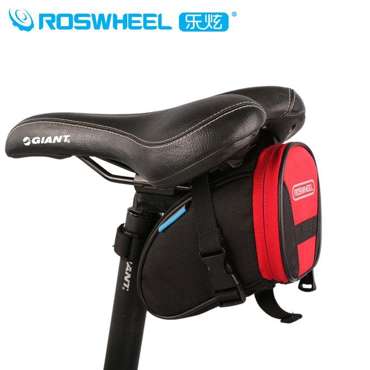 Roswheel Cycling Bag Black Blue Red Mountain Road Bike Rear Seat Tail Bag MTB Cykle Bicycle Saddle Bag Alforjas Para Bicicletas
