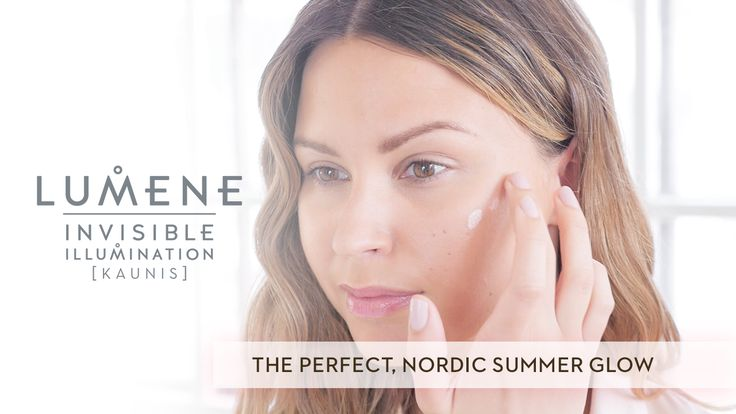 The perfect Nordic Summer Glow with Lumene Invisible Illumination products!
