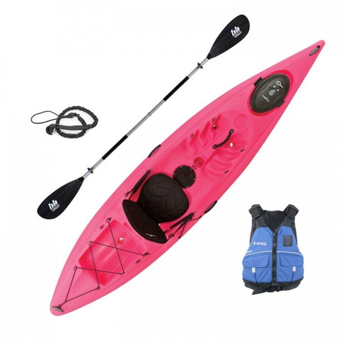 Ocean Kayak Venus 11. Its the whole kit and caboodle.