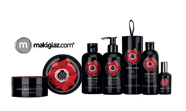 "A new sensual Limited Edition collection ""Smoky Poppy"" is coming soon from The Body Shop.  English Article http://makigiaz.com/blog/the-body-shop-smoky-poppy-en/  Greek Article http://makigiaz.com/blog/the-body-shop-smoky-poppy/"