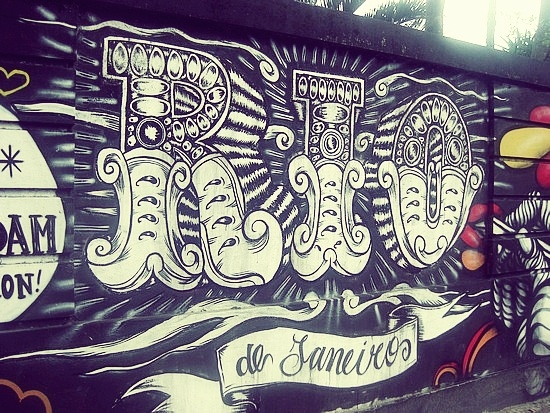 * street art in Rio de Janeiro