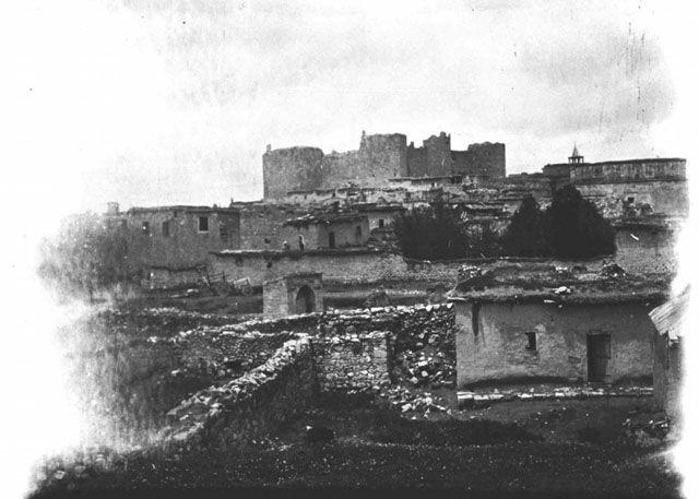 Λάρανδα Λυκαονίας-Karaman View of town and castle Date taken: May 1905 Photographer: Gertrude Bell Location: Karaman - Turkey Modern location: Karaman (Laranda)