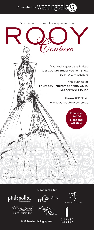 fashion show invitation - Google Search