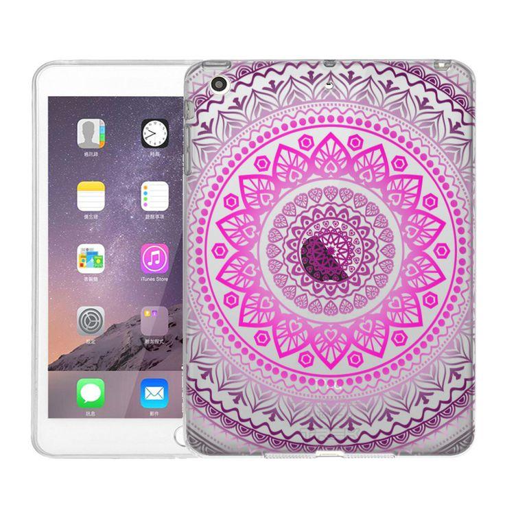 Apple iPad Mini Pink Circle Mandala Case