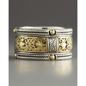 Silver   Gold Lace Band Ring   Konstantino84 best Weddings  Orthodox   Byzantine   Medieval Wedding Bands  . Orthodox Wedding Rings. Home Design Ideas