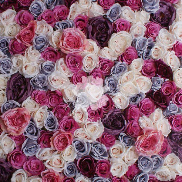 Dior Flower Wall Floral Backdrop | The Flower Wall Company                                                                                                                                                     More