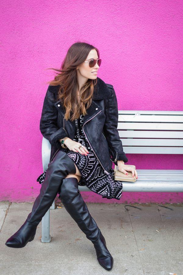 2bc32209a6cdc Bildergebnis für Olga Scheps black tights   Boots   Overknee stiefel ...