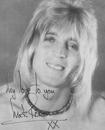Mick Ronson | *Black & White Photos | Pinterest
