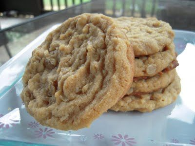 Peanut Butter Oat Cookies. Amanda and I added 1Tsp Vanilla, Chocolate ...