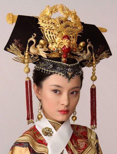 """Китайские головные уборы в традиционном стиле для сериала """"Empresses in the Palace"""" (Hou Gong Zhen Huan Zhuan,后宫·甄嬛传)"""