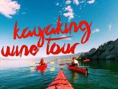 A Kayaking Wine Tour // Penticton, Okanagan British Columbia @HelloBC #ExploreBC