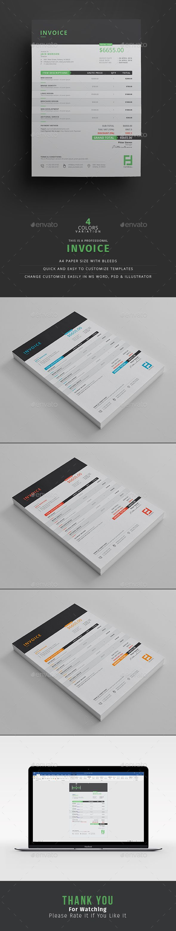 88 best Inspiration | Invoices images on Pinterest | Invoice ...